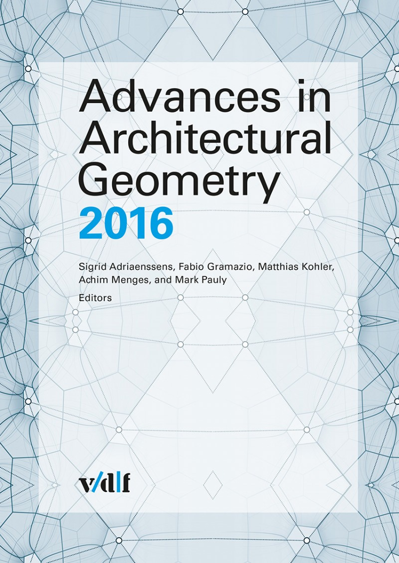 Advances In Architectural Geometry – Ebook